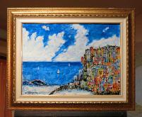 Positano - Aurelio Villanova - Acrilico - 250€