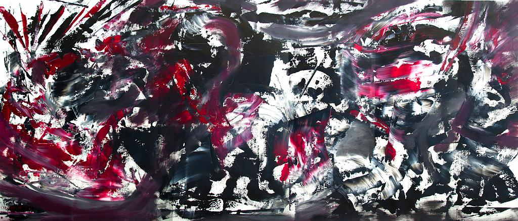 Singing noise - Davide De Palma - Action painting - 600 €