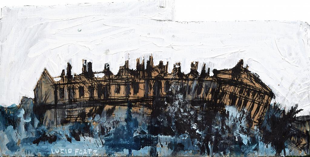 Untitled 41 - Lucio Forte - China e acrilico su legno - 98 €