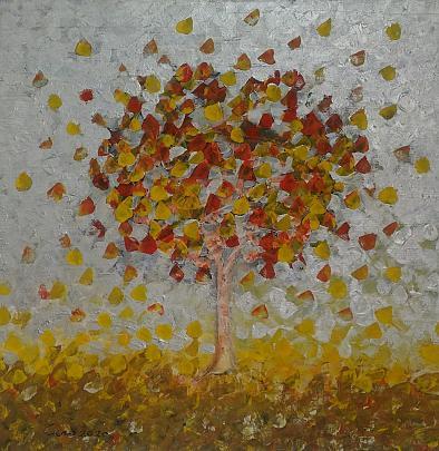 L'albero - Girolamo Peralta - Acrilico