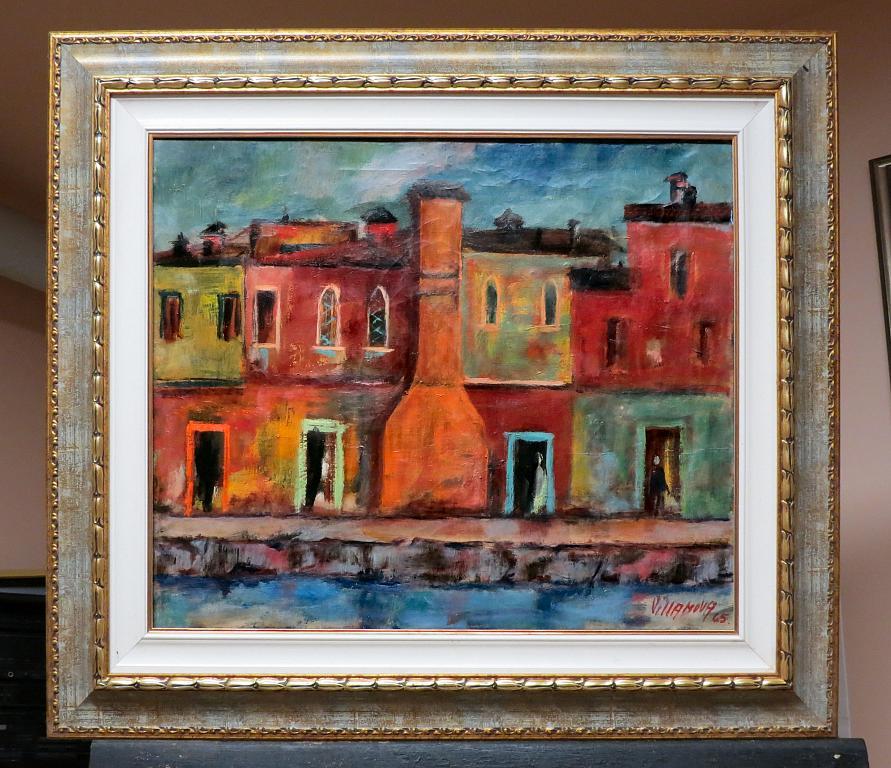 Naviglio - Aurelio Villanova - Olio - 300 €