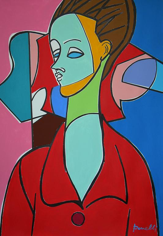 Ritratto di Lunia Czechowska - Gabriele Donelli - Acrilico - 400 €