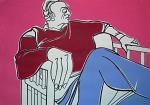 Ritratto di Renato Guttuso - Gabriele Donelli - Acrilico - 600€