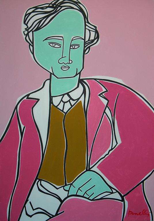 Ritratto di Amedeo Modigliani - Gabriele Donelli - Acrilico - 1900 €