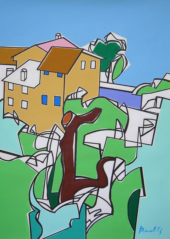 Paesaggio - Gabriele Donelli - Acrilico - 1400 €