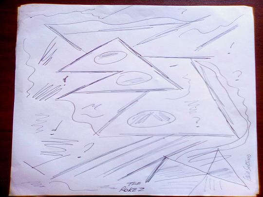 Le Rocce - Vincenzo Sortino - Pastelli - 5000 €