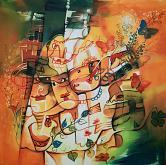 Carnevale  - Mery BLINDU - Acrilico