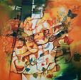 Carnevale  - Mery BLINDU - Acrilico - 680€