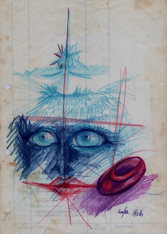 pensieri - daniele Rallo  - Pastelli - 50 €
