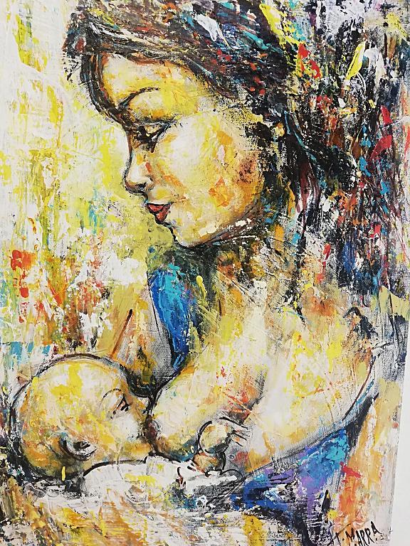 Madre per sempre - tiziana marra - Tecnica mista - 250,00 €