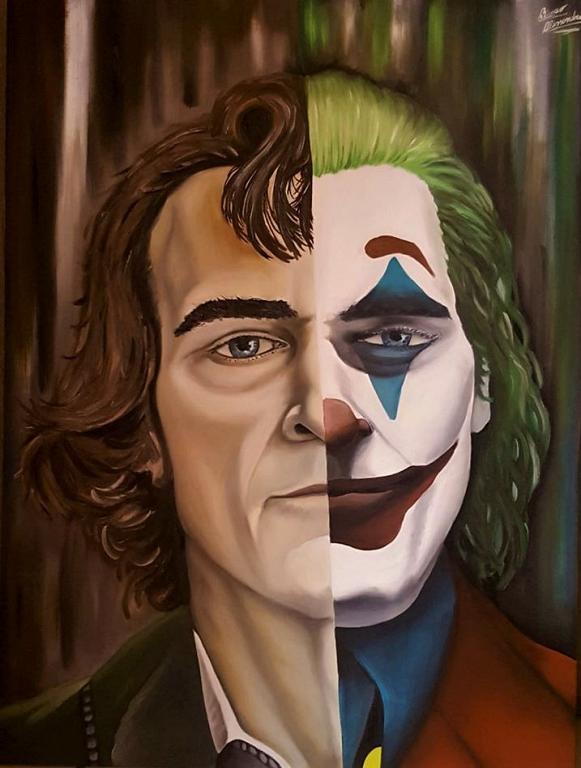 Joker - Alessandro Rizzo - Olio