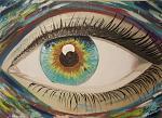 L'occhio - Alessandro Rizzo - Olio