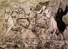 I quattro cavalieri dell'apocalisse - Alessandro Rizzo - Carboncino