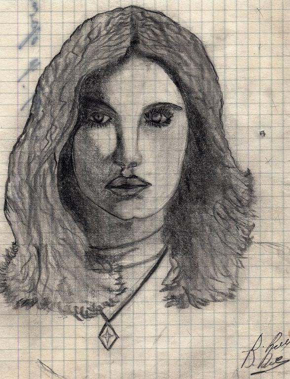 Francesca - daniele Rallo  - matita -  €