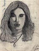 Francesca - daniele Rallo  - matita - € - Venduto!