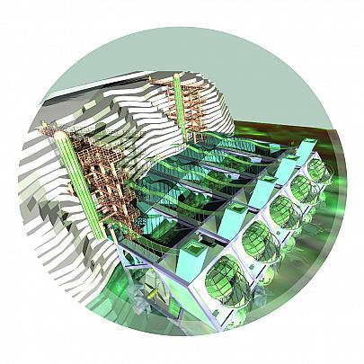 Energy Self-sufficient House 5 b - Lucio Forte - Digital Art - 98 €
