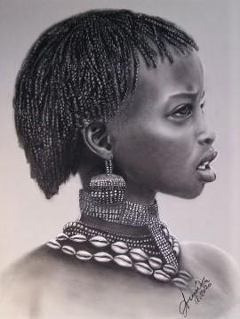 Gioielli africani - anna casu - Carboncino