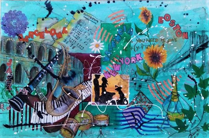 I colori dell'amore - anna casu - Acrilico