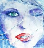 it's always me - Carla Colombo - Watercolor - 90€