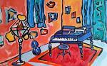 I Colori della Musica - Luana Marchisio - Olio