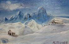 Neve, tanta neve... - Caterina Martinetto - Acrilico - 60,00€