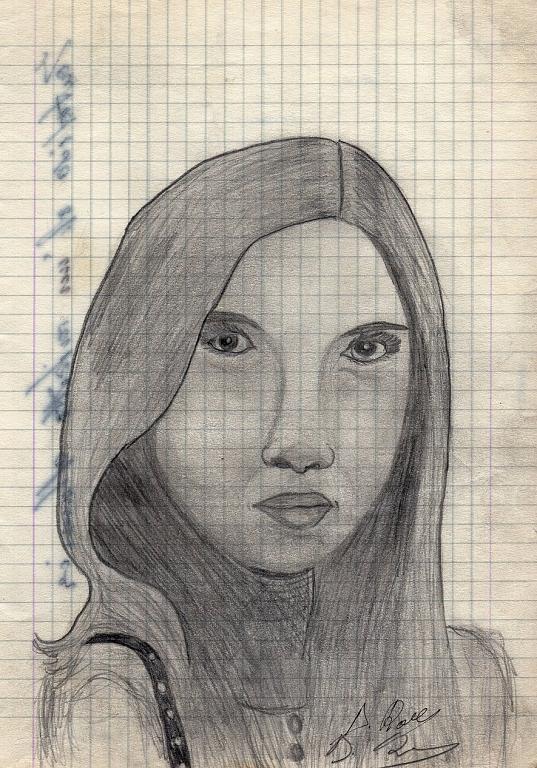monica - daniele Rallo  - matita -  €