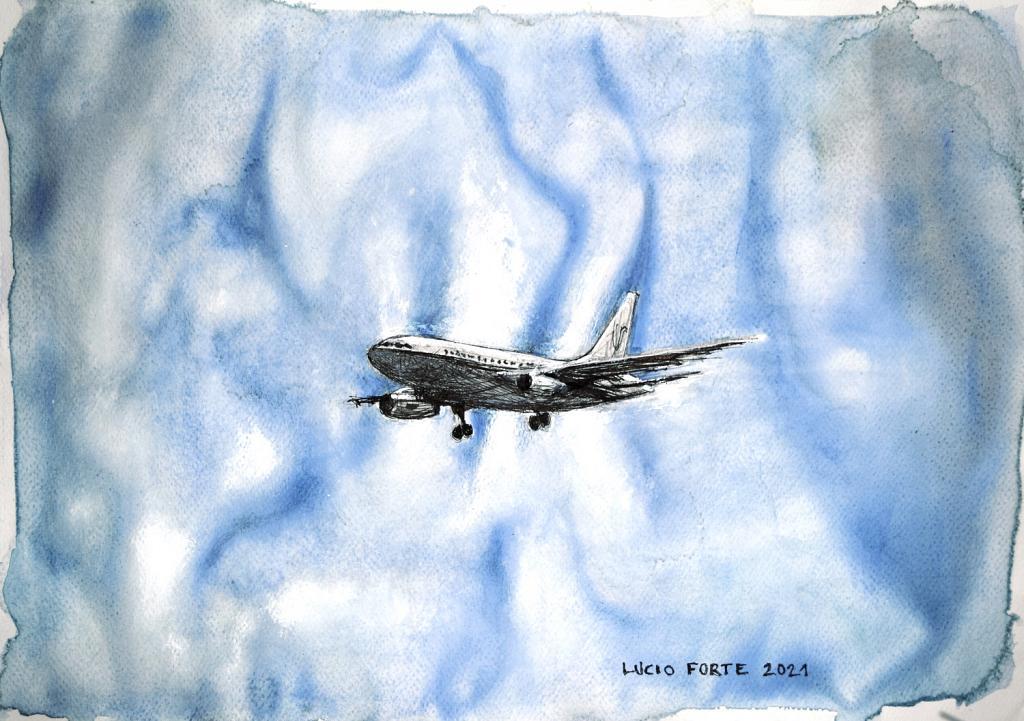 Untitled 46 - Lucio Forte - Acquerello, china, acrilico e matita su carta - 149 €