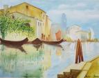 ARIA DI LAGUNA - Roberta Grazia Begliomini - Olio - 300,00€