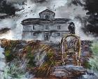 La casa tra i corvi - Noemi Piaggesi - Acrilico - 300 euro