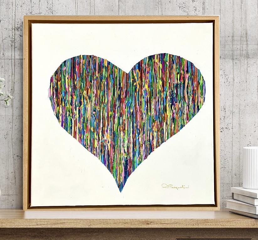 Bright Love - Colorato  - Daniela Pasqualini - Pastelli - 350 €