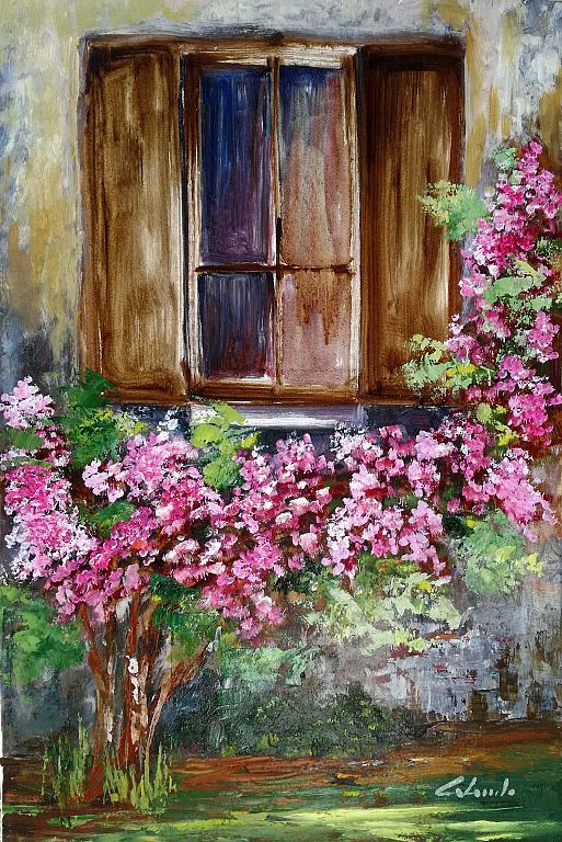 Aria di primavera - Carla Colombo - Olio - 410 €