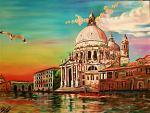 Venezia - Alessandro Rizzo - Olio
