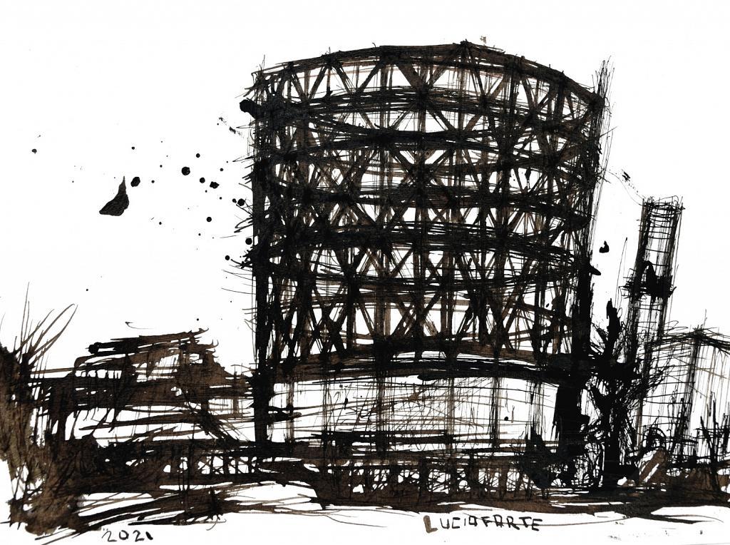 Untitled 48 - Lucio Forte - China su carta - 99 €