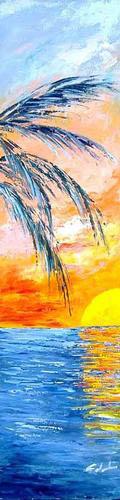 Verso il sole - Carla Colombo - Olio -  €