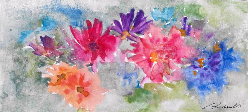 esplosione di colori - Prezzo speciale  - Carla Colombo - Acquerello - 18 €