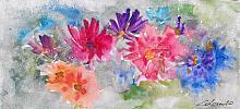 esplosione di colori - Prezzo speciale  - Carla Colombo - Acquerello - 18€