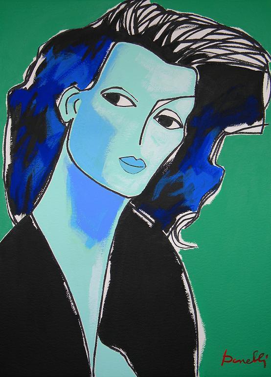Ritratto di ragazza - Gabriele Donelli - Acrilico - 1200 €