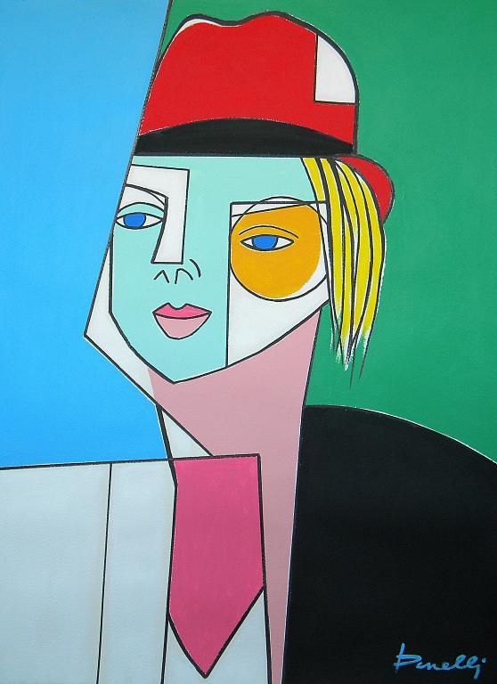 Ritratto di ragazza - Gabriele Donelli - Acrilico - 1900 €