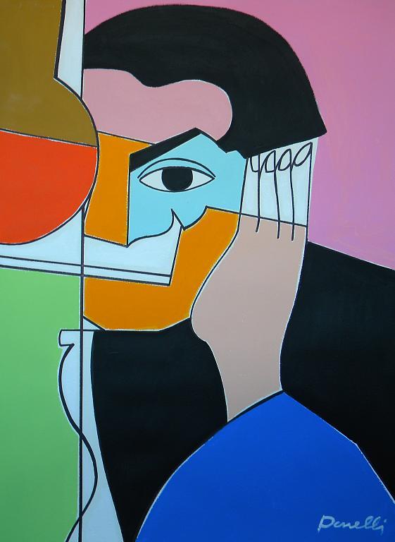 Ritratto di Pablo Picasso  - Gabriele Donelli - Acrilico - 1700 €