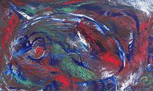 Intense, 100x60 cm - Davide De Palma - Action painting - 350€
