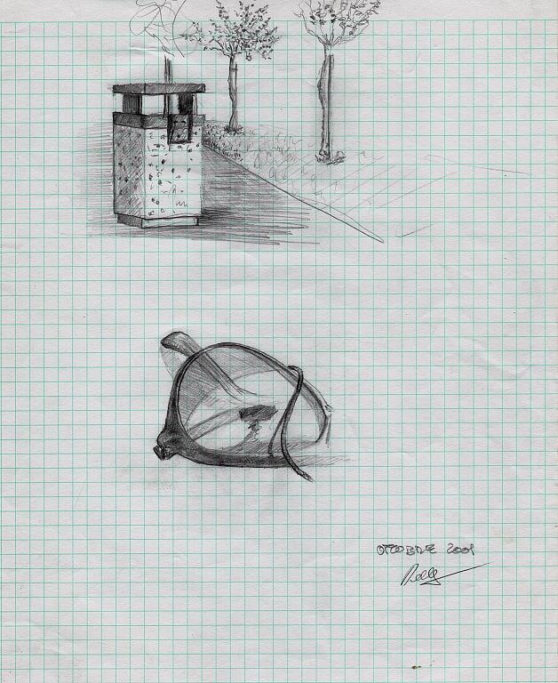 riunione - daniele Rallo  - matita