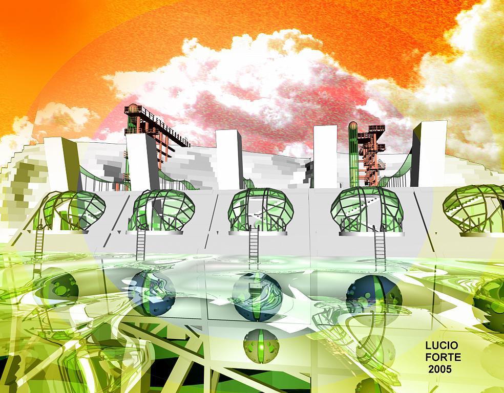 Energy Self-sufficient House A22 - Lucio Forte - Digital Art - 89 €