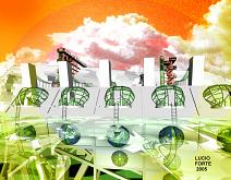 Energy Self-sufficient House A22 - Lucio Forte - Digital Art - 89€