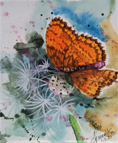 Farfalla - anna casu - Acquerello