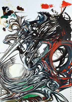 Untitled 15-16 - Lucio Forte - Olio