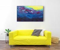 The sun warm me, 100x60 cm - Davide De Palma - Acrilico - 350€
