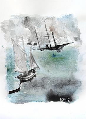 Turner - Lucio Forte - Acquerello