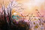 La magia di un nuovo tramonto  - Carla Colombo - Olio - € - Venduto!