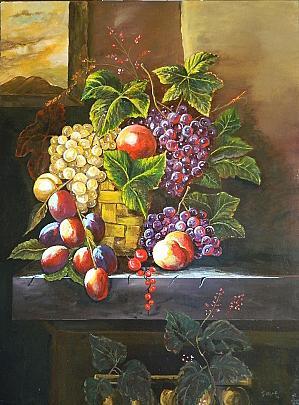 Cesto con frutta - Giuseppe IARIA - Acrilico - 450 €