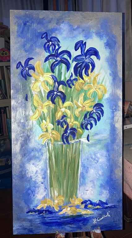 Vaso di fiori - FABIO CARDINALI - Acrilico - 130 €